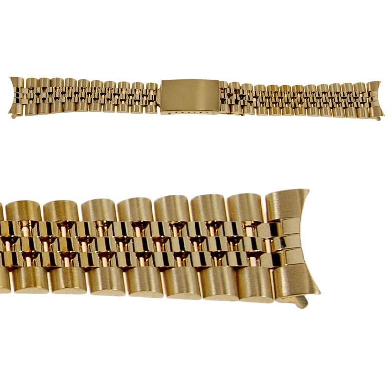 Men S Rolex 14k Gold Jubilee Date Model Replacement Bracelet Italian Made